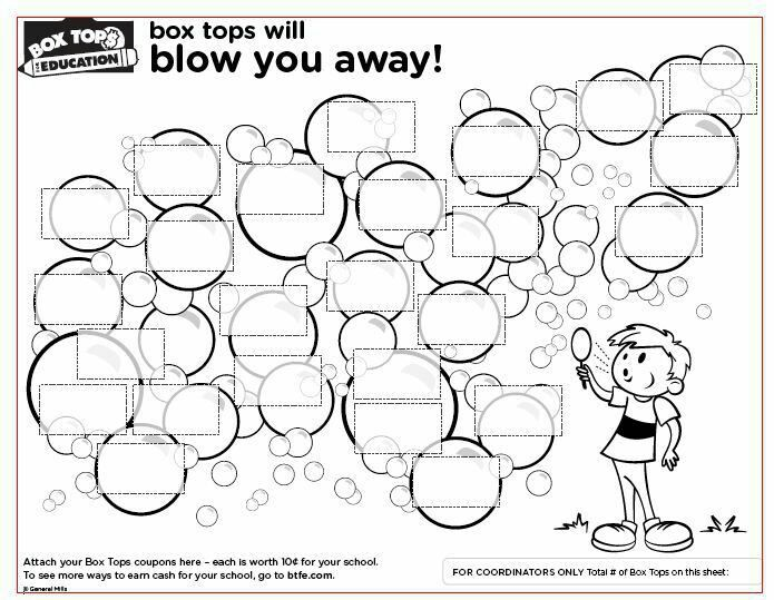 Box Tops for Education Collection Sheets – Parents & Teachers of ...